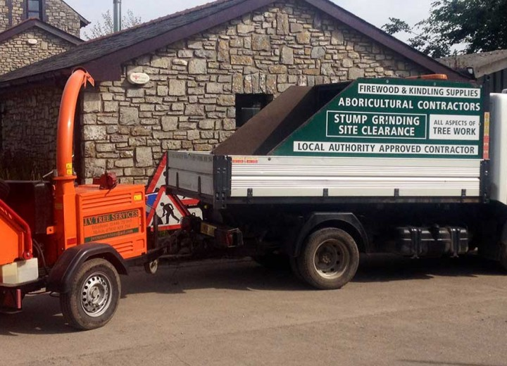 JV Tree Services Machinery